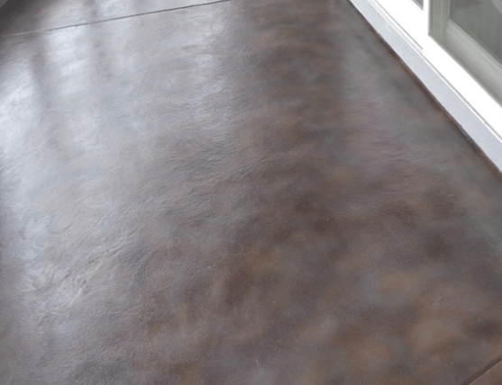 stained concrete fayetteville